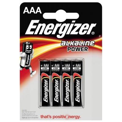 Батарейки мизинчиковые ENERGIZER ААА