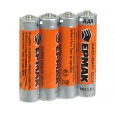 Батарейка мизинчиковая ЕРМАК тип ААА 1шт