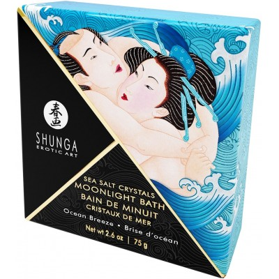 СОЛЬ ДЛЯ ВАННЫ SHUNGA BATH SALTS OCEAN BREEZE 75ГР