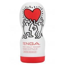 Мастурбатор Deep Throat TENGA&Keith Haring