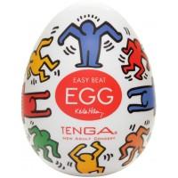 Мастурбатор яйцо Dance TENGA&Keith Haring Egg