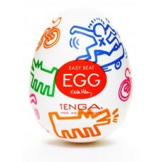 Мастурбатор яйцо Street TENGA&Keith Haring Egg