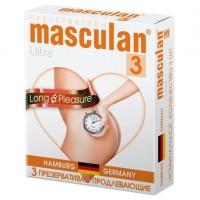 Презервативы продлевающие Masculan Ultra 3 (Long Pleasure)