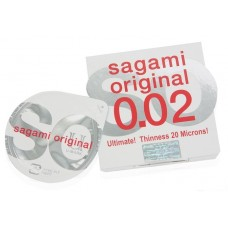 Презервативы SAGAMI Original 002 полиуретановые 1шт