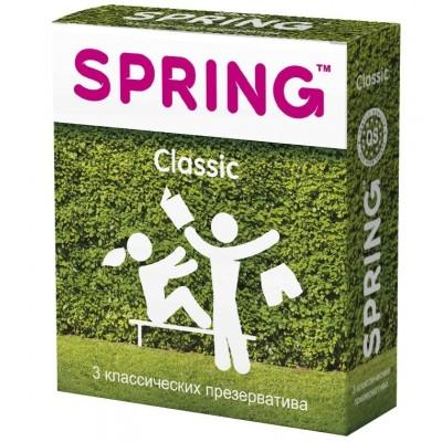 Презервативы Spring Classic классические №3
