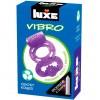 Виброкольцо LUXE VIBRO Секрет Кощея + презерватив