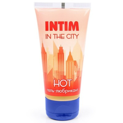 Гель-лубрикант INTIM HOT in the city 60 мл