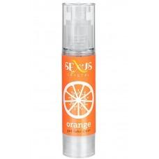 Гель-лубрикант Sexus на водной основе с ароматом апельсина Crystal Orange 60 мл