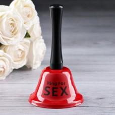 """Колокольчик настольный """"Ring for a sex"""""""