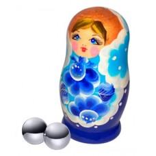 Вагинальные шарики SITABELLA металлические 2,2 см