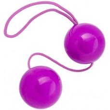 Вагинальные шарики TOYFA фиолетовые 3,5 см