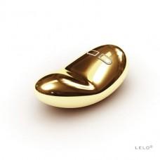 Золотой клиторальный массажер Yva Gold Lelo